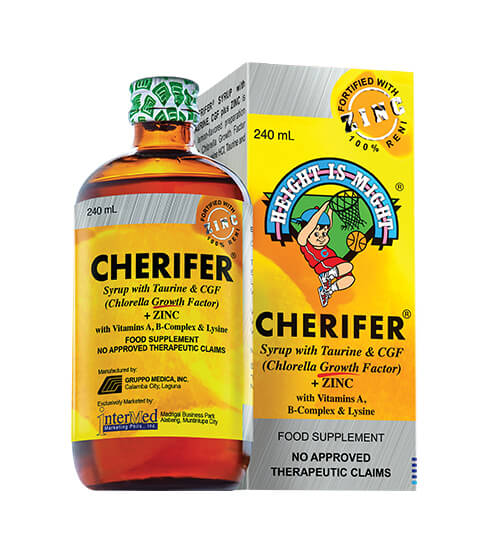Cherifer Syrup with Zinc