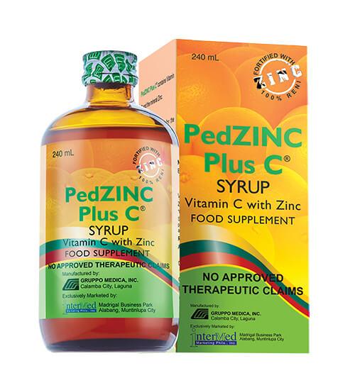 PedZinc Plus C Syrup